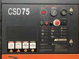 ***SOLD*** Champion CSD75 Rotary Screw Compressor - picture3' - Click to enlarge