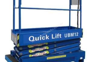12ft Self Propelled Mini Scissor Lift