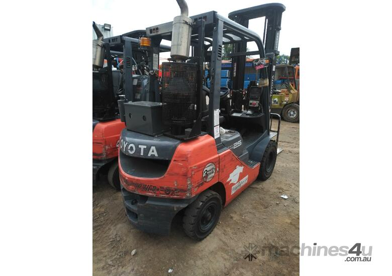 toyota forklift flameproof intrinsic