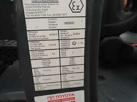 toyota forklift flameproof intrinsic  - picture5' - Click to enlarge
