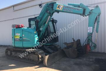 Kobelco 8 Tonne Excavator for