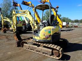 Yanmar VIO45-5 Excavator - picture0' - Click to enlarge