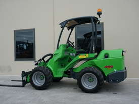 Avant 745 Wheel Loader W/ Pallet Forks - picture0' - Click to enlarge