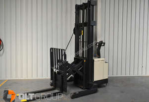 Used Crown Walk Behind Reach Truck WR30 1.5 Tonne Walkie Stacker