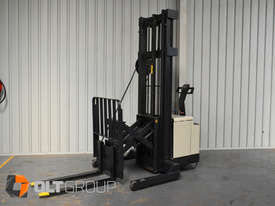 Used Crown Walk Behind Reach Truck WR30 1.5 Tonne Walkie Stacker - picture0' - Click to enlarge