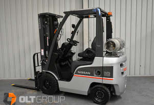 Nissan P1F1A18DU 1.8 Tonne 4300mm Lift Height 3 Stage Container Mast Sideshift Forklift