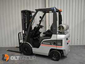 Nissan P1F1A18DU 1.8 Tonne 4300mm Lift Height 3 Stage Container Mast Sideshift Forklift - picture0' - Click to enlarge
