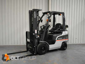 Nissan P1F1A18DU 1.8 Tonne 4300mm Lift Height 3 Stage Container Mast Sideshift Forklift - picture1' - Click to enlarge