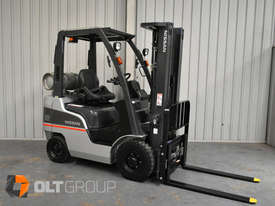 Nissan P1F1A18DU 1.8 Tonne 4300mm Lift Height 3 Stage Container Mast Sideshift Forklift - picture3' - Click to enlarge