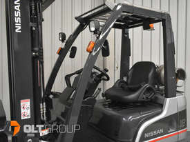 Nissan P1F1A18DU 1.8 Tonne 4300mm Lift Height 3 Stage Container Mast Sideshift Forklift - picture10' - Click to enlarge