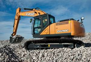 CASE CX210C CRAWLER EXCAVATORS