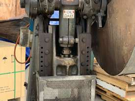 Used C frame METAL PRESS 30 TON John Heine 203A - picture1' - Click to enlarge