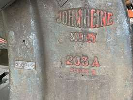 Used C frame METAL PRESS 30 TON John Heine 203A - picture2' - Click to enlarge