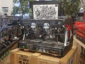 ASTORIA SABRINA 2 GROUP BRAND NEW BLACK ESPRESSO COFFEE MACHINE - picture0' - Click to enlarge