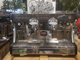 ASTORIA SABRINA 2 GROUP BRAND NEW BLACK ESPRESSO COFFEE MACHINE - picture1' - Click to enlarge