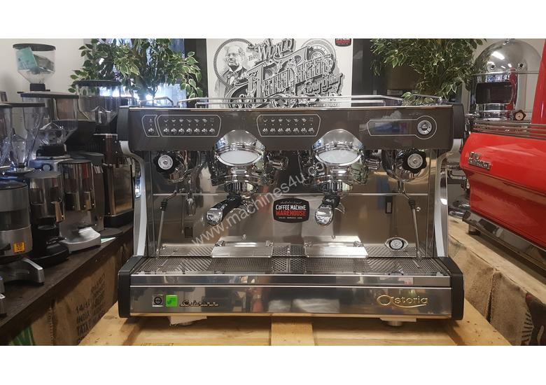 ASTORIA SABRINA 2 GROUP BRAND NEW BLACK ESPRESSO COFFEE MACHINE