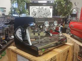ASTORIA SABRINA 2 GROUP BRAND NEW BLACK ESPRESSO COFFEE MACHINE - picture2' - Click to enlarge