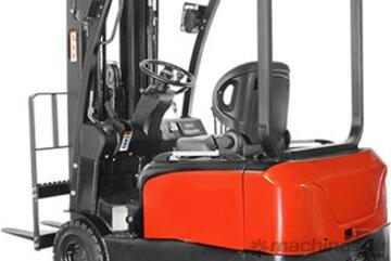 Brand   CPD16/18/20TV8 1.6T/1.8T/2T 3-Wheel Li-Ion Electric Counterbalance Forklift FOR SALE