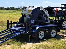 Ex Demo Mini Skid Steer Loader TASKMASTER ML30T plus Plant Trailer and attachments  - picture3' - Click to enlarge