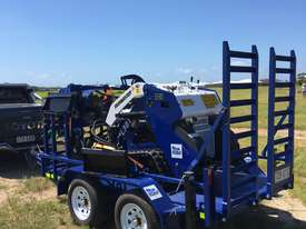 Ex Demo Mini Skid Steer Loader TASKMASTER ML30T plus Plant Trailer and attachments  - picture4' - Click to enlarge