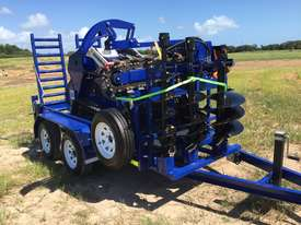 Ex Demo Mini Skid Steer Loader TASKMASTER ML30T plus Plant Trailer and attachments  - picture6' - Click to enlarge