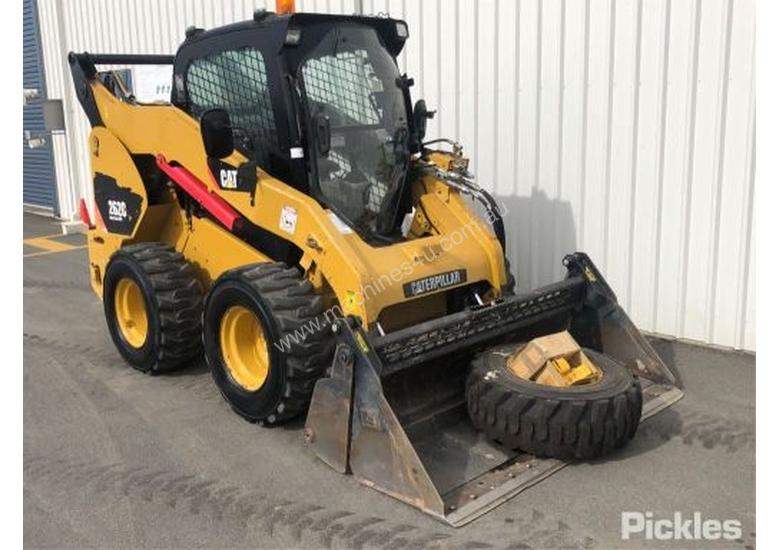 Used Caterpillar 262C Wheeled SkidSteers in , - Listed on