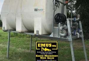 10,000ltr Slide in Water Tank with sprays, remote control. E.M.U.S TS466