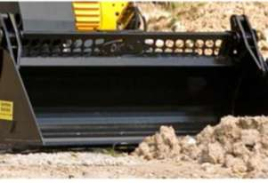 Mini Loader Attachments - NEW DIGGA 4 in 1 Buckets (SOLD BY MINI MACHINES DIRECT)