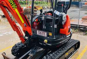 2016 Kubota 2.5 Excavator U25 in Good Condition with 609 Hours
