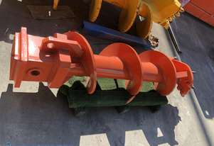 450mm Flat Bottom Rock Auger