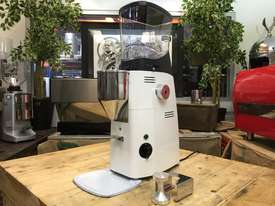 MAZZER KOLD CUSTOM WHITE BRAND NEW ESPRESSO COFFEE GRINDER - picture1' - Click to enlarge
