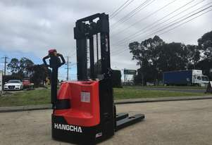 1 Ton Electric Stacker With Double Pallet For Sale