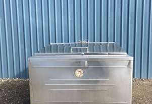 1,650ltr Jacketed Stainless Steel Tank, Milk Vat