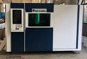 AccurlCMT SMARTLINE FIBER LASER | 1.5KW IPG | PRECITEC HEAD | BECKHOFF CONTROLLER | CHANGE TABLE