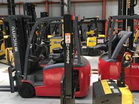 Battery Electric Walkie Stacker - picture0' - Click to enlarge