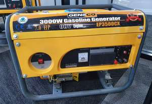 3.5kva generator with a 7hp petrol engine in a roll frame.