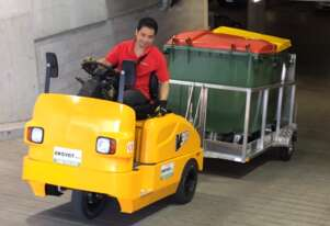 QDD Seat-on Electric Tractor 3.5 Tonnes Capacity