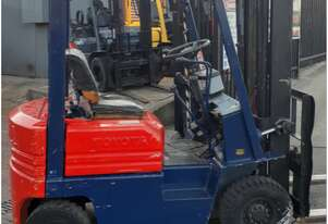 toyota petrol 1.8 ton forklift only $4999+gst runs well serviced & tested prior to sale