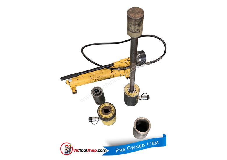 Enerpac Hydraulic Master Puller Set with Hand Pump, 36 Ton, BHP3751G