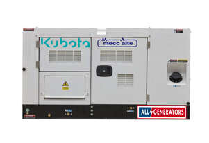 16.5KVA Kubota Powered Three Phase Diesel Generator
