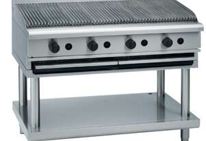 Waldorf 800 Series CHL8120G-LS - 1200mm Gas Chargrill Low Back Version