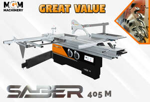 Download PDF for pricing: Saber 405 M - A very high quality manual panel saw without the fuss .
