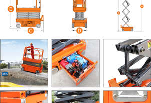 Rent to Buy: Dingli E-Tech S056-RS Scissor Lift