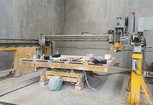 TL Stone Fabrication Bridge Saw