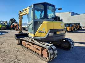 YANMAR SV100 10T EXCAVATOR WITH RUBBER TRACKS AND 4860 HOURS - picture1' - Click to enlarge