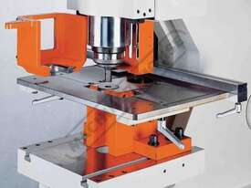 IW-100S Hydraulic Punch & Shear 100 Tonne, Dual Independent Operation Includes Auto Touch & Cut Syst - picture3' - Click to enlarge