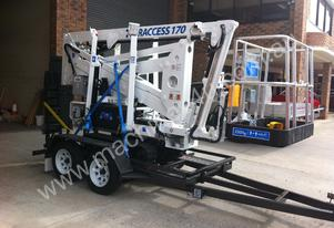 Traccess 170 - 17m Spider Lift