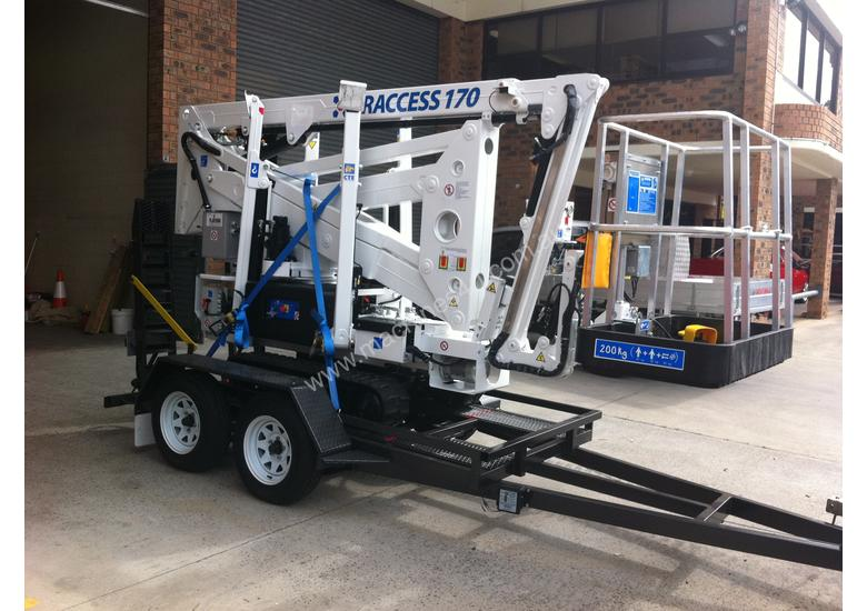 CTE TRACCESS 170 - 17m Spider Lift.                                Price from $380 per week