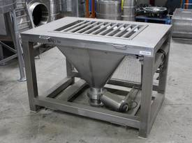 Stainless Steel Feed Hopper