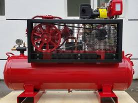 BOSS 20CFM/ 6HP DIESEL AIR COMPRESSOR ON 112L TANK - picture2' - Click to enlarge